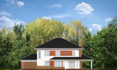 Фасад проекта Вилла на Боровой
