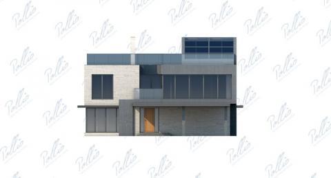 Фасад проекта Х8