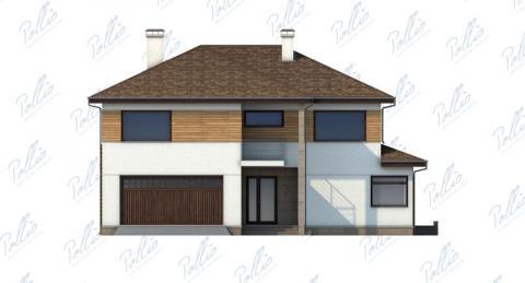 Фасад проекта X4