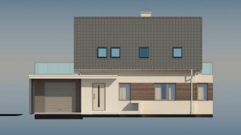 Фасад проекта Z231