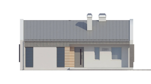 Фасад проекта Z251
