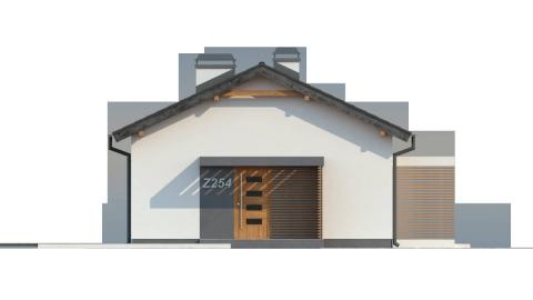 Фасад проекта Z254