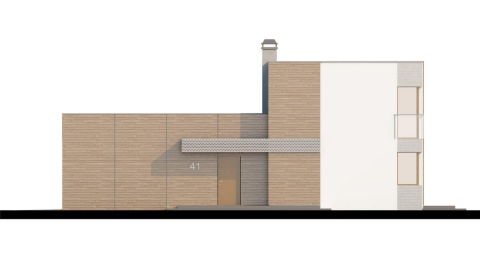Фасад проекта Zx41