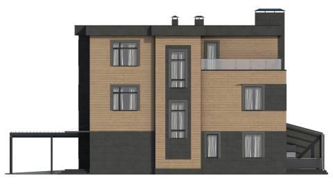 Фасад проекта Сезанн