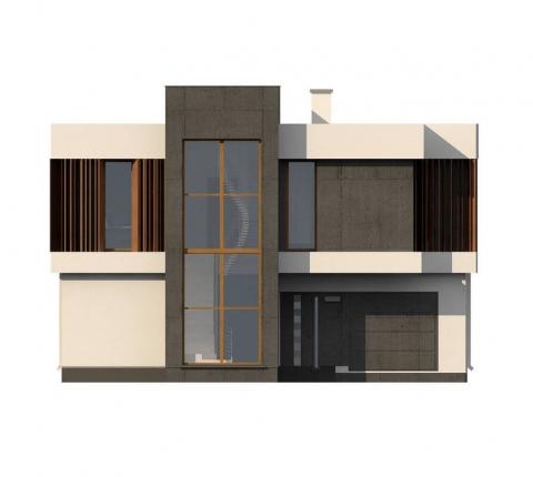 Фасад проекта Zx124