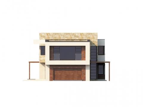 Фасад проекта Zx14