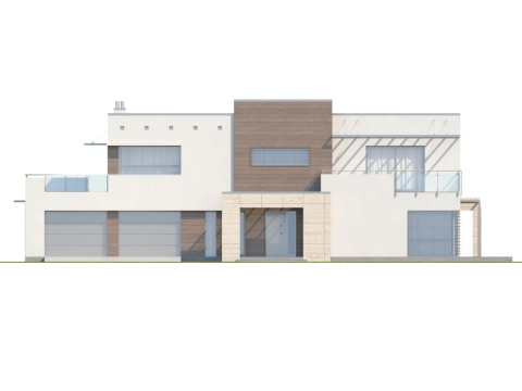 Фасад проекта Zx15 GL2