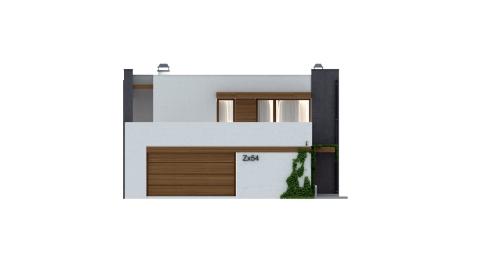Фасад проекта Zx54