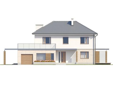 Фасад проекта Zx6