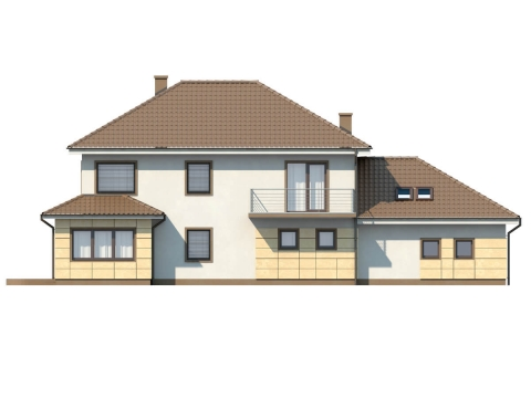 Фасад проекта Zx16