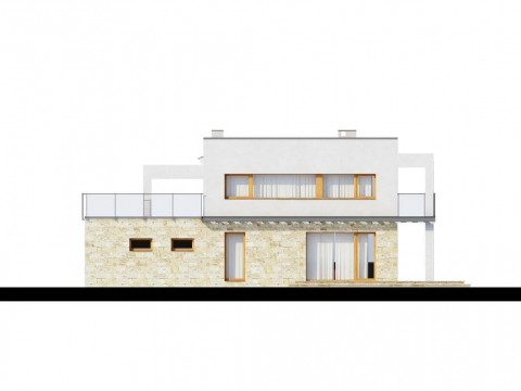 Фасад проекта Zx5