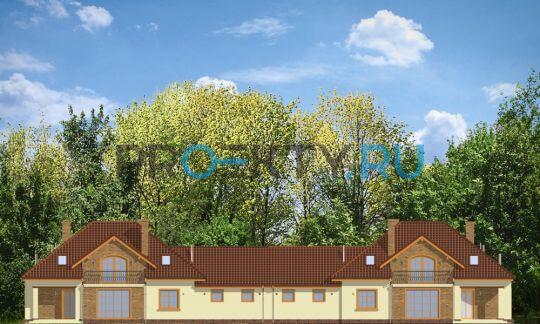 Фасады проекта Бенедикт-Близнец
