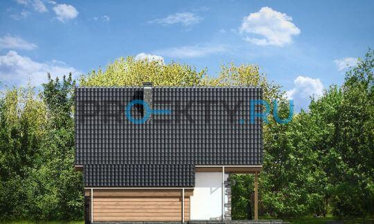 Фасады проекта Хатка-2