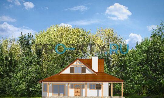 Фасады проекта Цапля