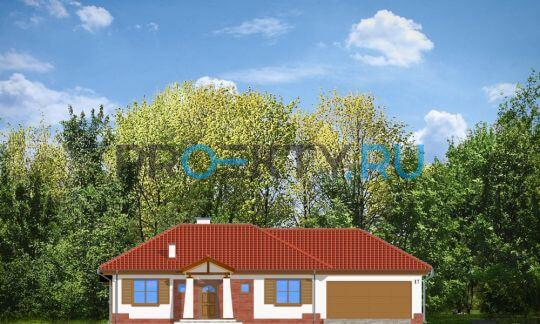 Фасады проекта Четыре угла