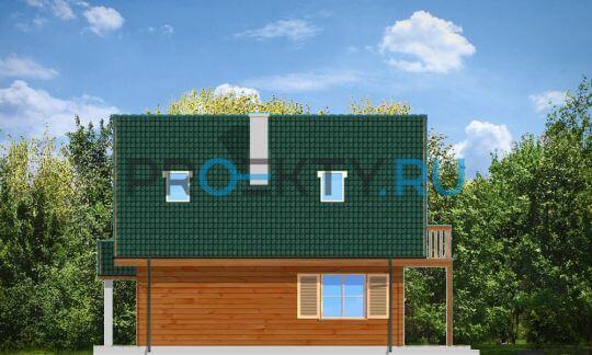 Фасады проекта Д03 деревянный