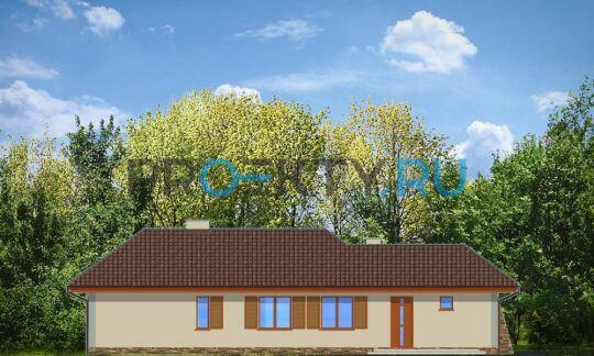 Фасады проекта Д05 с гаражом