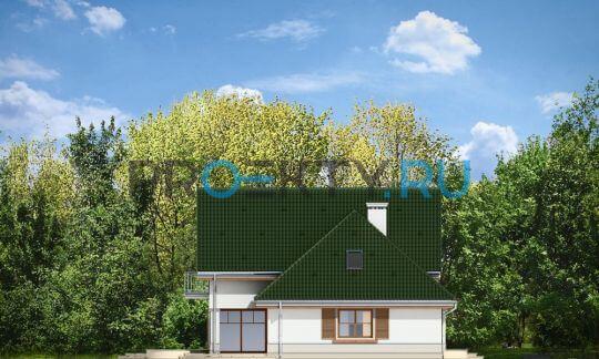 Фасады проекта Дом в Березках