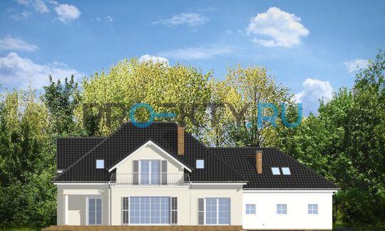 Фасады проекта Дом с Колоннами
