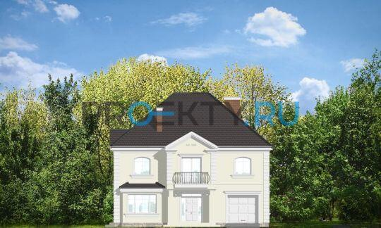 Фасады проекта Элегантный