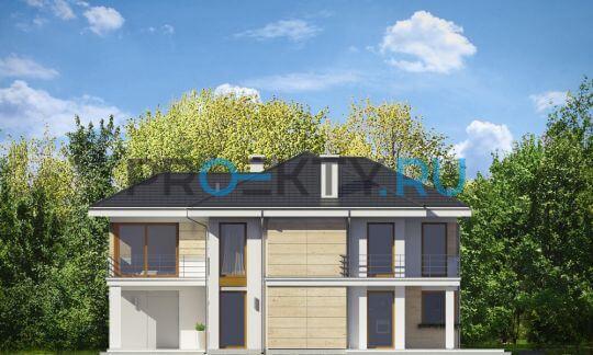 Фасады проекта Ривьера-4