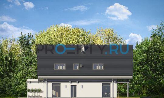 Фасады проекта Открытый-4