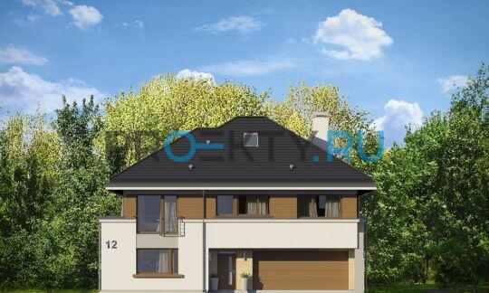 Фасады проекта Лесная Резиденция
