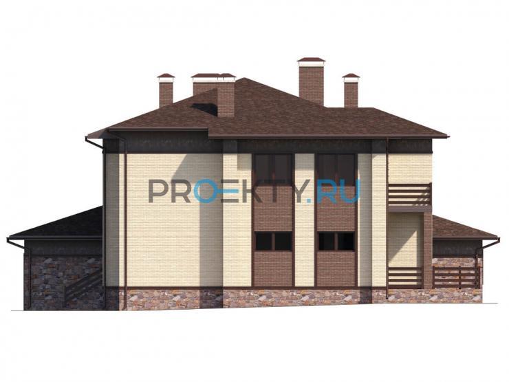 Фасады проекта Пралине