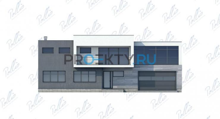 Фасады проекта Х10