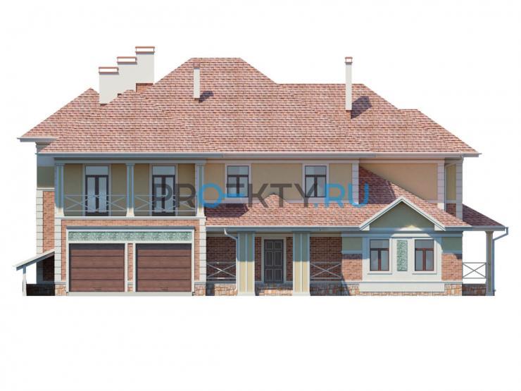 Фасады проекта Эдем