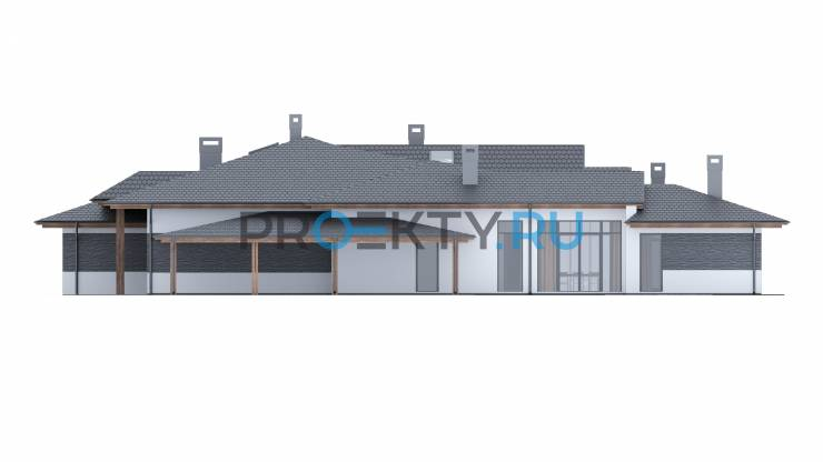 Фасады проекта Атланта