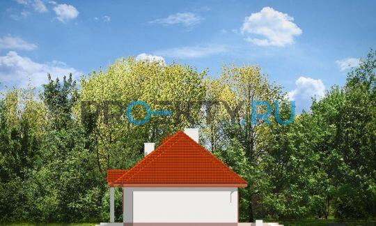 Фасады проекта Гаргамель с гаражом