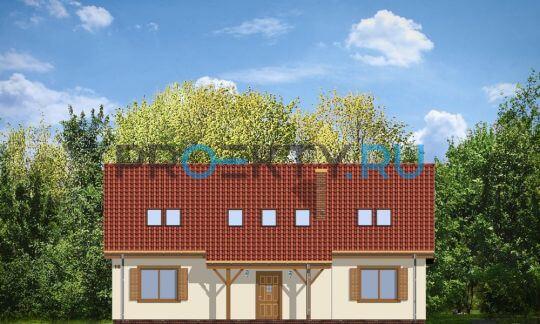 Фасады проекта Искорка