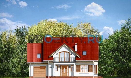 Фасады проекта Юлька-4