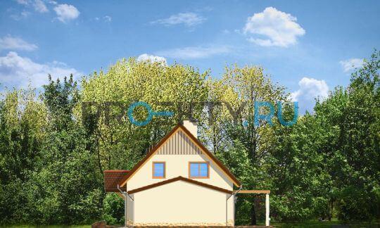 Фасады проекта Лесной Заулок-2