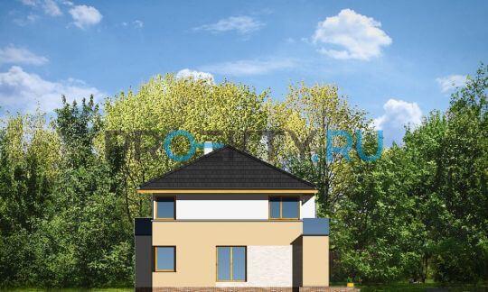 Фасады проекта Небольшой