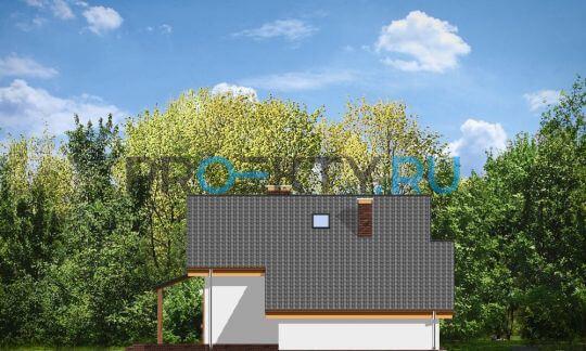 Фасады проекта Пчелка с гаражом
