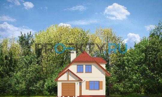 Фасады проекта Первый дом-2