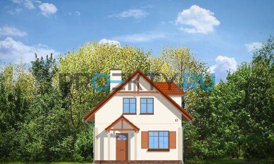 Фасады проекта Первый дом