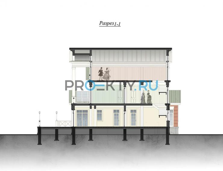 Фасады проекта Полина