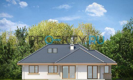 Фасады проекта Дом по размеру-2