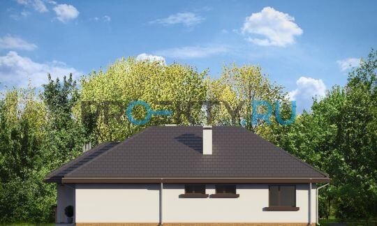 Фасады проекта Дом по размеру