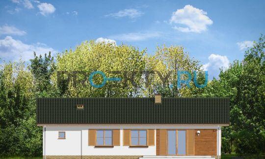 Фасады проекта Лучик