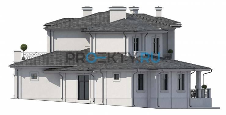 Фасады проекта Ривуар