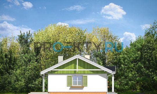 Фасады проекта Солнечный с гаражом-2