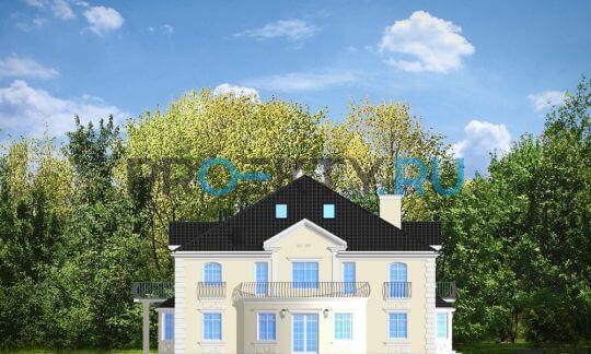 Фасады проекта Сокол