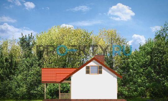 Фасады проекта Щегол
