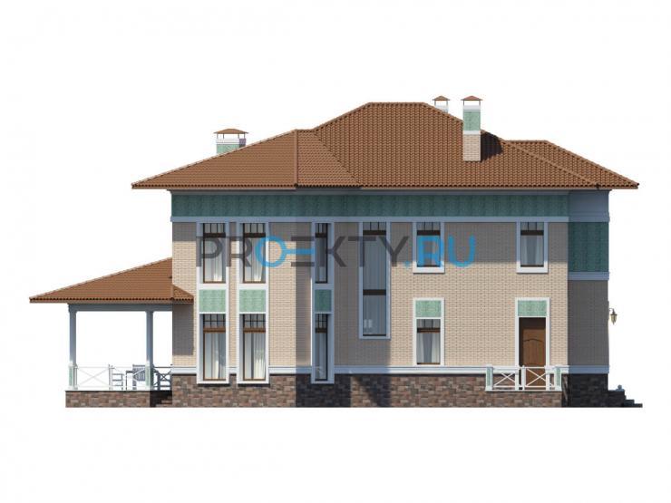 Фасады проекта Тиффани