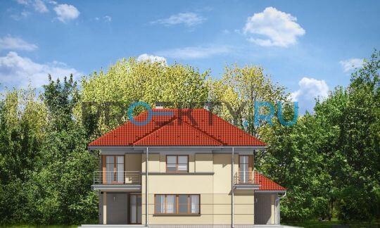 Фасады проекта Бирюза