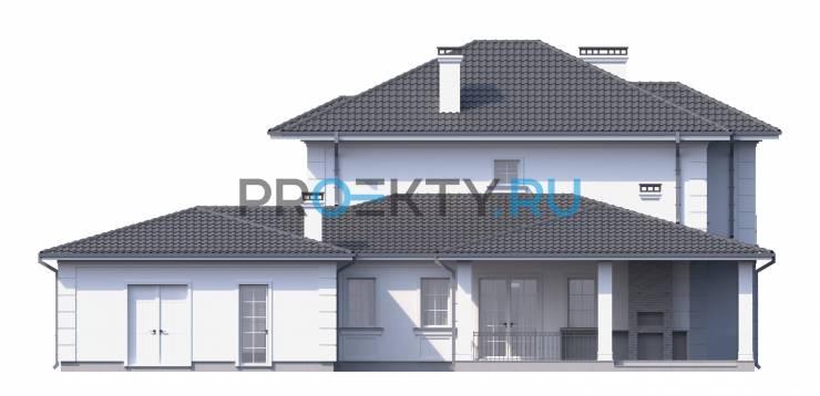 Фасады проекта Гран
